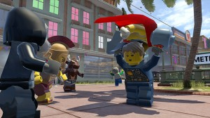 скриншот LEGO CITY Undercover PS4 - Русская версия #2