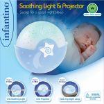 Светильник Infantino 'Спокойные сны', голубой (004627I)