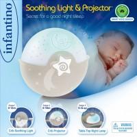 Светильник Infantino 'Спокойные сны', серый (004909I)