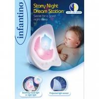 Светильник Infantino 'Звёздная ночь', голубой (004373I)