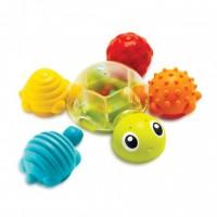 Развивающая игрушка-конструктор для купания Sensory 'Черепашки' (005359S)