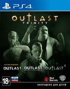 игра Outlast Trinity PS4 - Русская версия
