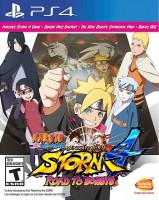 игра Naruto: Shippuden Ultimate Ninja Storm 4. Road to Boruto PS4
