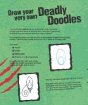 фото страниц Deadly Doodle Book #2