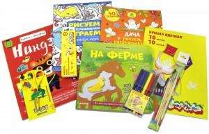 фото страниц Большая арт-мастерская (комплект из 4 книг и материалов для творчества) #3