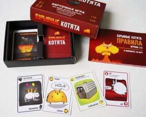 фото Настольная игра Bombcat 'Взрывные котята' (взрывная версия) #2