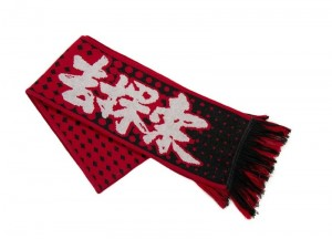 фото Шарф Mi wool scarf Black/Red (1164200035) #2