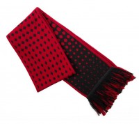 Подарок Шарф Mi wool scarf Black/Red (1164200035)