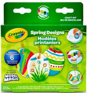 Набор с масссой для лепки Crayola 'Весенние узоры' (57-2016)