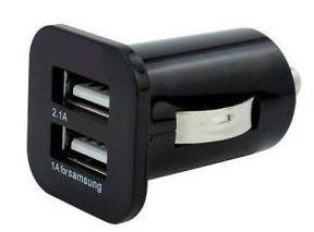 Автомобильное зарядное устройство PowerPlant (DV00DV5063)