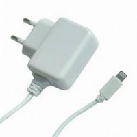 Сетевое зарядное устройство PowerPlant 1A Lightning для iPhone 5 (DV00DV5040)