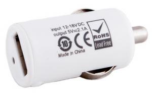 Автомобильное зарядное USB-устройство PowerPlant 2.1A (DV00DV5037)