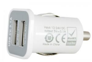Автомобильное зарядное устройство PowerPlant, 2xUSB, 3.1A (DV00DV5036)