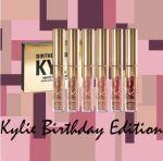 фото Набор жидких помад, 6 в 1 Kylie Birthday Edition #2