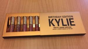 фото Набор жидких помад, 6 в 1 Kylie Birthday Edition #8