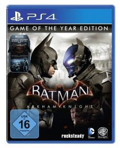 игра Batman: Arkham Knight Game of the year edition PS4  - Русская версия