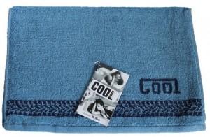 Полотенце махровое Cool, 35х70 см, модель 'Cool' синий