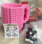 Подарок Чашка 'Конструктор' светло-розовая