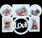 Подарок Фотоколлаж на 5 фото 'Чувство любви' 36 х 50 см