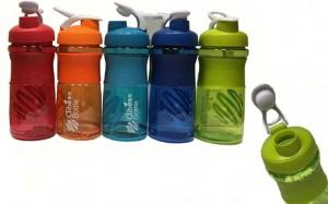 Подарок Бутылка из пищевого пластика, 650 мл (DB-2075)