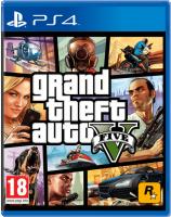 игра Grand Theft Auto V (PS4, русские субтитры)