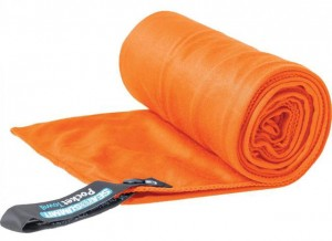 Полотенце Sea To Summit Pocket Tek Towel 60x120 см Large Orange (STS ATTTEKLOR)