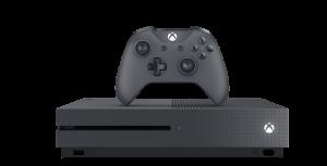 Приставка Microsoft Xbox One S 1 TB Black + Доп Джойстик