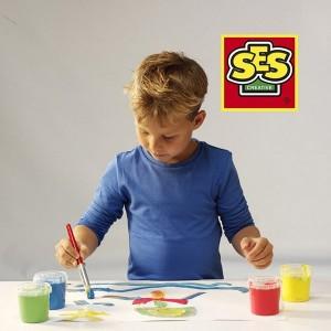 Пальчиковые краски Ses Creative 'Мои первые рисунки' (24926S)