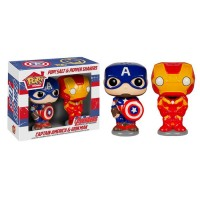 Подарок Солонка и перечница Funko POP! Home Captain America и Iron Man (5600)