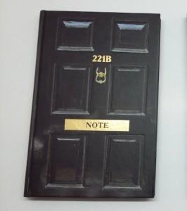 фото страниц Стильный блокнот 'Шерлок. 221b Note' #2