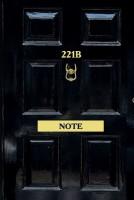 Книга Стильный блокнот 'Шерлок. 221b Note'