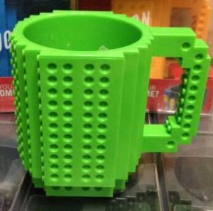 Подарок Чашка 'Конструктор' (зеленая)