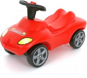 Каталка-автомобиль Wader-Polesie 'Пожарная команда' со звуковым сигналом (42255)