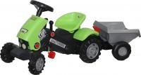 Каталка-трактор с педалями Coloma Y Pastor-Polesie 'Turbo-2' с полуприцепом (52742)