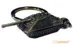 фигурка Брелок World of Tanks Jagdpanther (античное серебро) Keychain