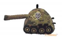 фигурка Плюшевый брелок World of Tanks Green Khaki (WG043322)