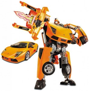 Робот-трансформер HappyWell Roadbot Lamborghini Murcielago