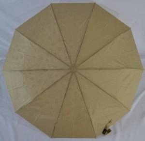 Подарок Зонт 'Bellisimo' полуавтомат с волшебной проявкой (10 спиц, бежевый)