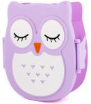 Подарок Ланч бокс Сова, фиолетовая