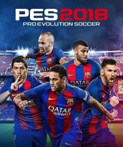 Игра Ключ для PES 2018 - RU