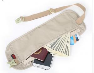 фото Сумка-кошелек поясная NatureHike 'Travel Waist Bag' light grey (NH15Y005-B) #3