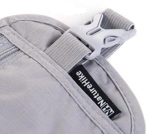 фото Сумка-кошелек поясная NatureHike 'Travel Waist Bag' light grey (NH15Y005-B) #4