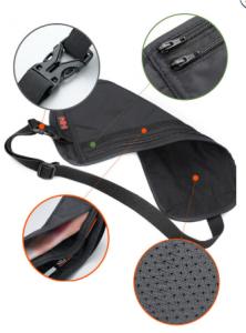 фото Сумка-кошелек поясная NatureHike 'Travel Waist Bag' light khaki (NH15Y005-B) #2