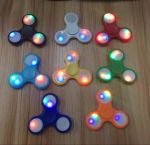 фото Спиннер для рук с LED подсветкой, белый #6