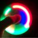 фото Спиннер для рук с LED подсветкой, белый #4