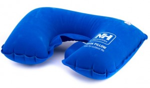 Надувная подушка NatureHike 'Inflatable Travel Neck Pillow' blue
