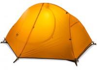 Палатка NatureHike 'Cycling 1' (1-х местная) 20D siliconeorange (NH18A095-D)