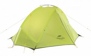 Палатка NatureHike 'Taga 2' (2-х местная) 20D silicone, green (NH17T180-J)