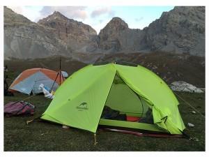фото Палатка NatureHike 'Taga 2' (2-х местная) 20D silicone, green (NH17T180-J) #12