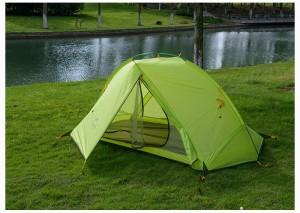 фото Палатка NatureHike 'Taga 2' (2-х местная) 20D silicone, green (NH17T180-J) #2